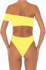 Load image into Gallery viewer, Kimmy Top Yellow - Escape Swimwear