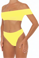 Load image into Gallery viewer, Kimmy Bottoms Yellow - Escape Swimwear