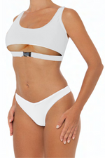 Load image into Gallery viewer, Dannie Set White - Escape Swimwear
