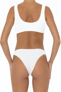 Dannie Set White - Escape Swimwear