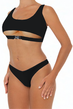 Load image into Gallery viewer, Dannie Set Black - Escape Swimwear