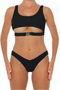 Dannie Set Black - Escape Swimwear