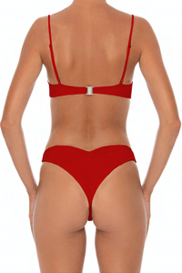 Tana Set Red - Escape Swimwear
