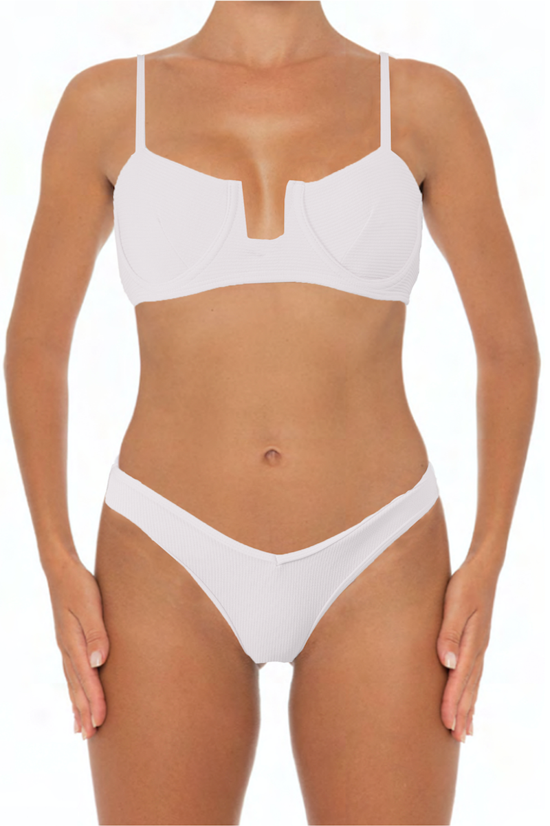 Eva Top White - Escape Swimwear
