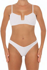 Load image into Gallery viewer, Eva Top White - Escape Swimwear
