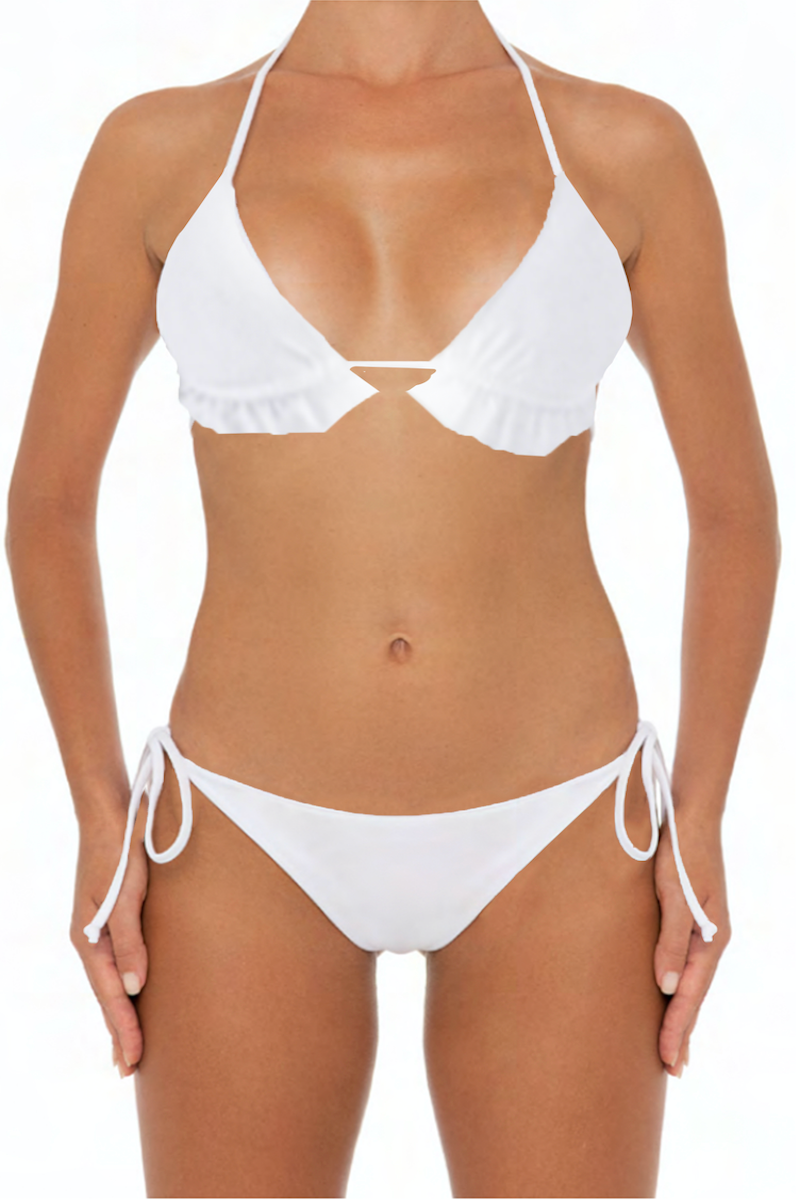 Lani Set White - Escape Swimwear