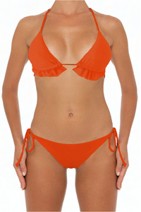 Lani Bottoms Orange - Escape Swimwear