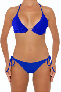 Lani Top Blue - Escape Swimwear