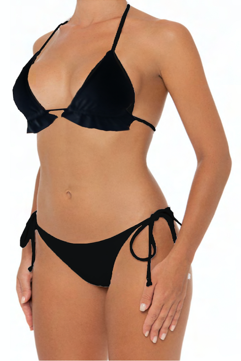 Lani Bottoms Black - Escape Swimwear