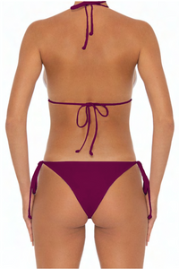 Azalea Top Wine - Escape Swimwear