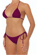 Load image into Gallery viewer, Azalea Top Wine - Escape Swimwear