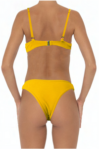 Eva Top Yellow - Escape Swimwear