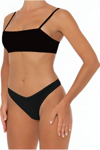 Kelly Top Black - Escape Swimwear