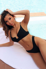 Load image into Gallery viewer, Eva Set Black - Escape Swimwear