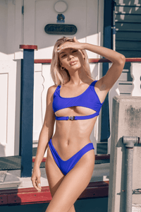 Dannie Set Blue - Escape Swimwear