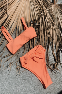 Sadira Bottoms Coral - Escape Swimwear
