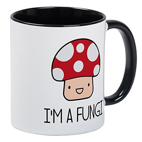 Mugsan I'm A Fungi Fun Guy Mushroom Mugs Unique Coffee Mug, Coffee Cup