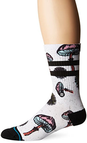 Stance Men's Silly Shrooms White Large