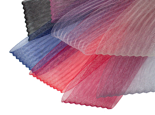 "2 3/4"" (7cm) Crinoline Pleated"