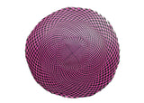 Buntal Checkered Woven Mat Flat Capeline for Millinery - Two Tone - Humboldt Haberdashery