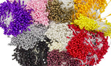 Flower Stamens for Artificial Flower Making Mini Pearl - 300 Pcs - Humboldt Haberdashery
