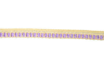 "Vintage Trim Lavender Ribbon Weave Crochet Lace 1/2"" - Sold by the Yard"