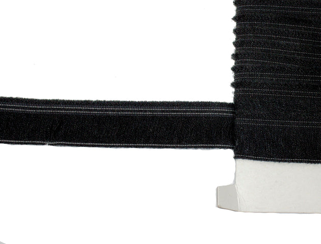 "Cotton Fringe Shindo (SIC-4130) Black 1 1/2"" Wide - Sold by the Yard"