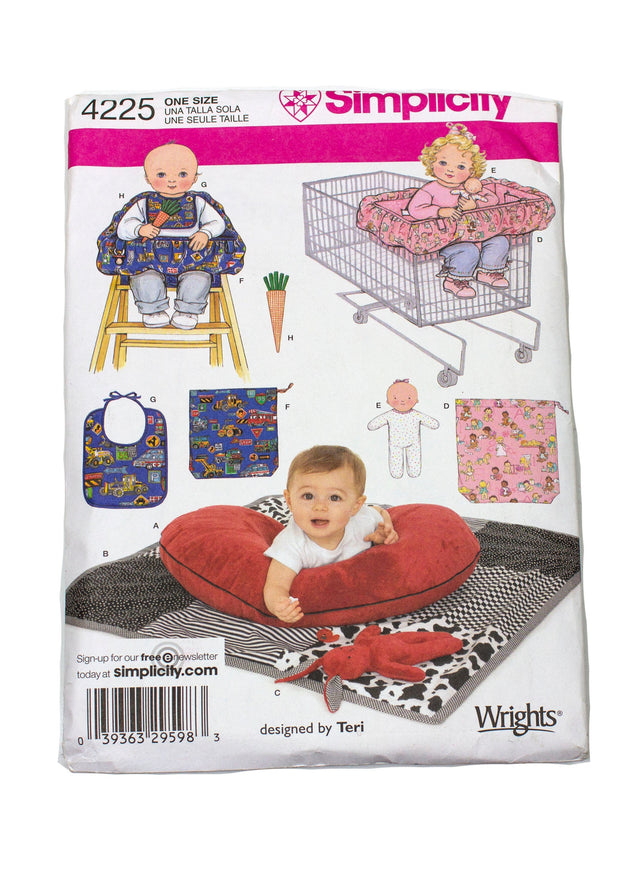 Simplicity 4225 Baby Accessories Uncut - One Size