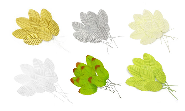 Leaves for Artificial Flower Making & Millinery - 20 Pieces - Humboldt Haberdashery