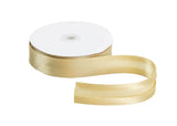 Satin Ribbon Bias Tape 25 mm Single Fold - 5 Yards - Humboldt Haberdashery