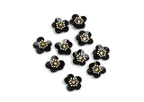 "Sequin Flower 3D Applique 10 Pieces - 1"" Diameter - Humboldt Haberdashery"