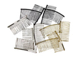 "Twisted Wire Comb for Veils and Headpieces 3"" Long - Four Pieces - Humboldt Haberdashery"