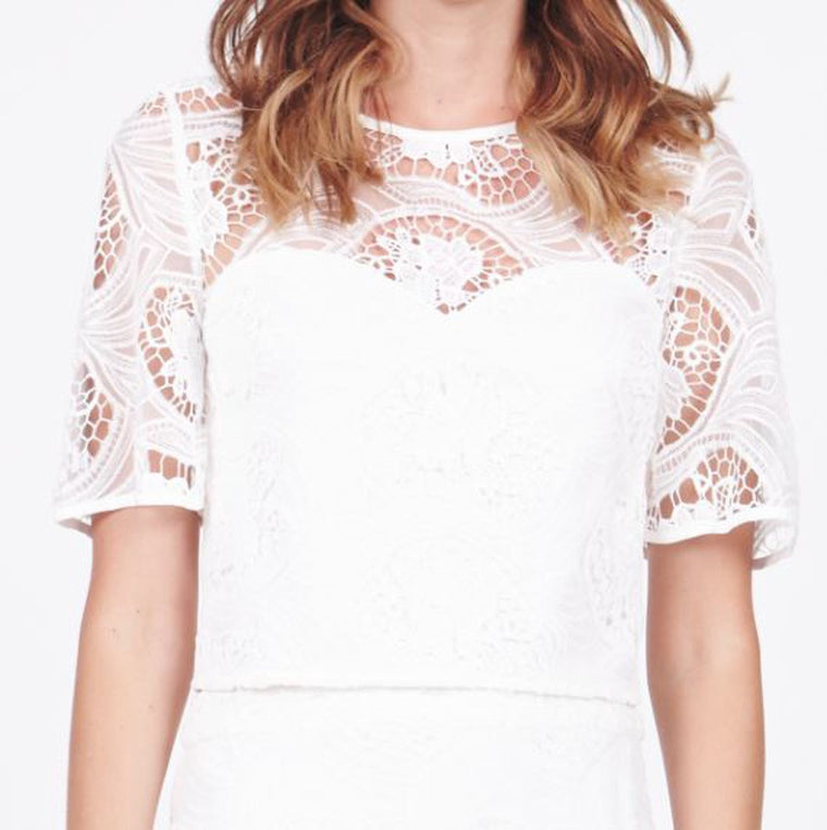 Essence Lace Crop