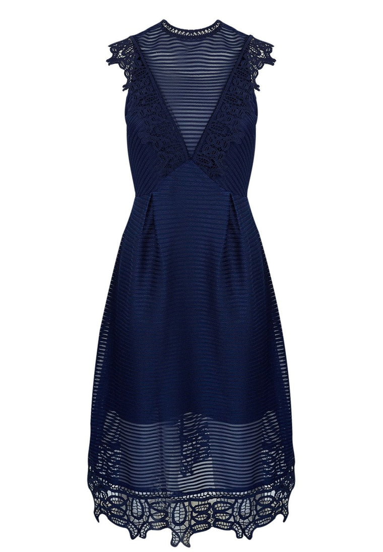 Shilla The Label - Dolce Blue Lace Dress