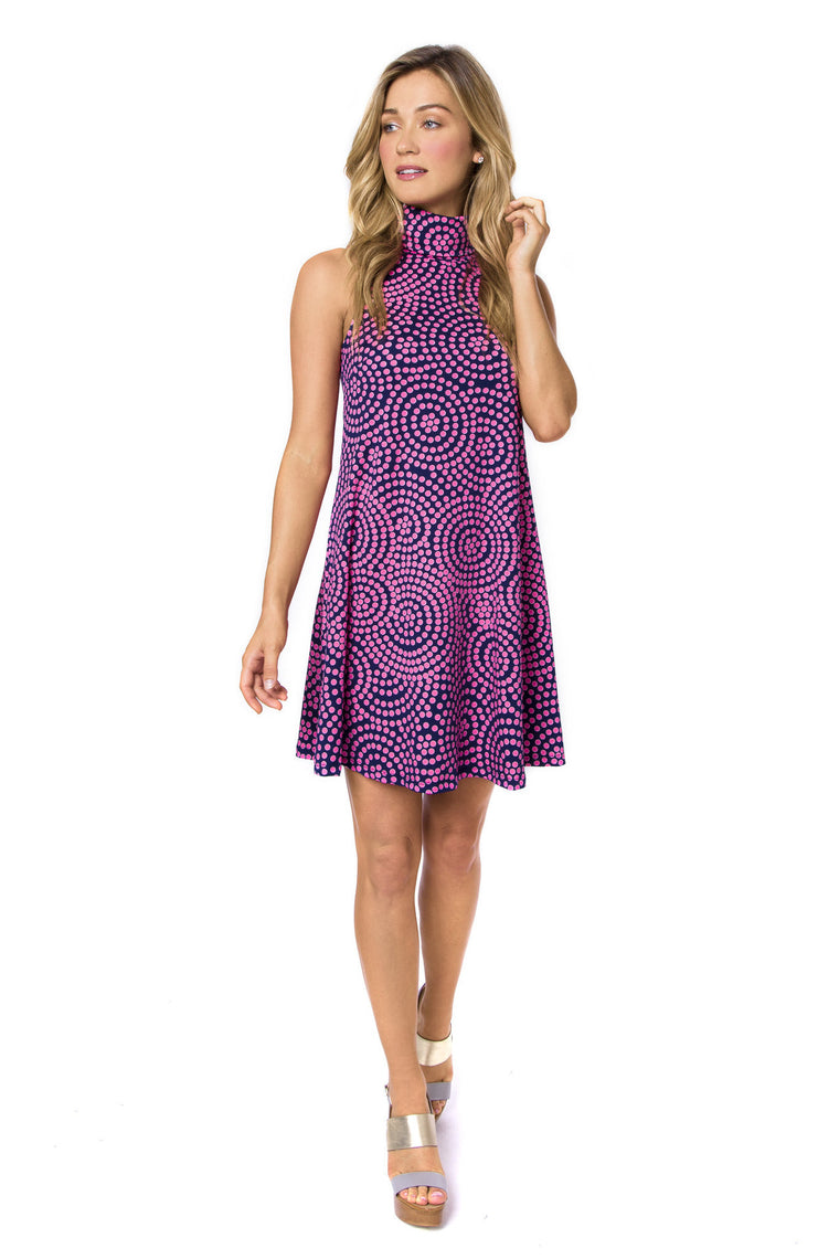 DressesJulie Brown Fern Dress in Neon SunsetMarvallure