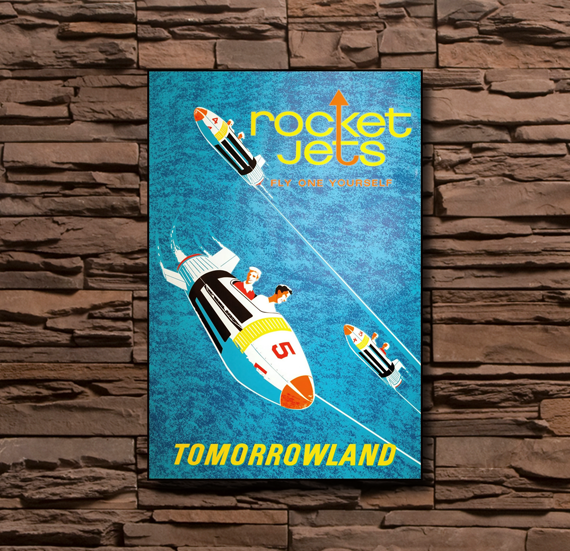 Disneyland Rocket Jets - 0003