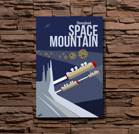 Disneyland Space Mountain - 0012
