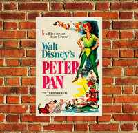Disney Peter Pan Movie Poster - 0031