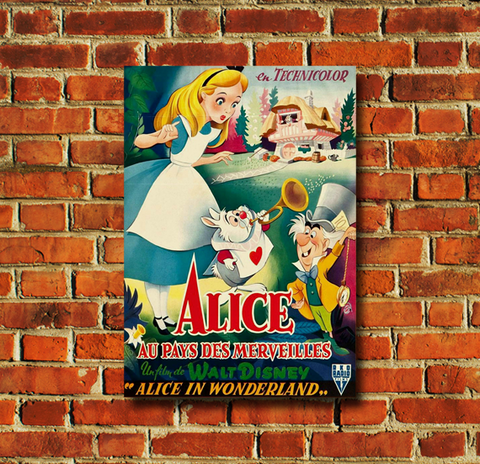 Alice in Wonderland Movie Poster - 0032