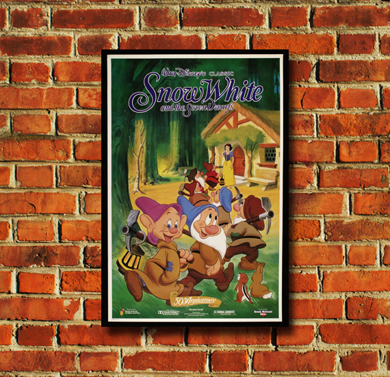 Disney Snow White Movie Poster - 0035
