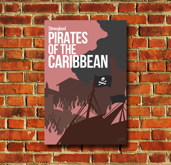Pirates of the Caribbean Movie Poster - 0043