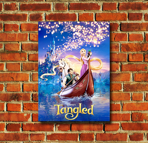 Tangled Movie Poster - 0044