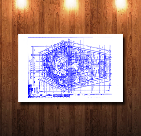 Walt Disney World Horizons Pavilion Blueline Blueprint - 0050