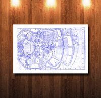 EPCOT Site Blueline Blueprint - 0055