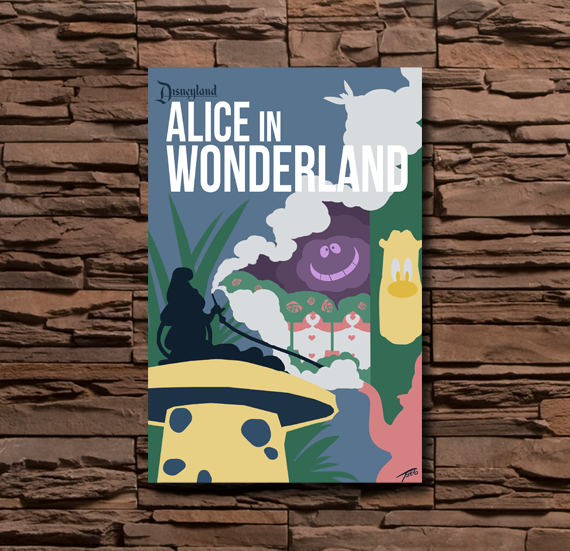 Disneyland Alice in Wonderland - 0057
