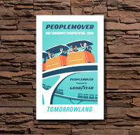 Disney Tomorrowland Peoplemover - 0098