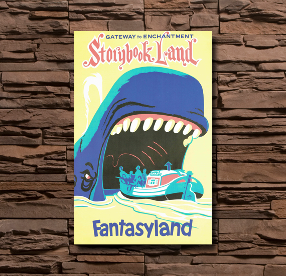 Disneyland Fantasyland Storybook Land - 0111