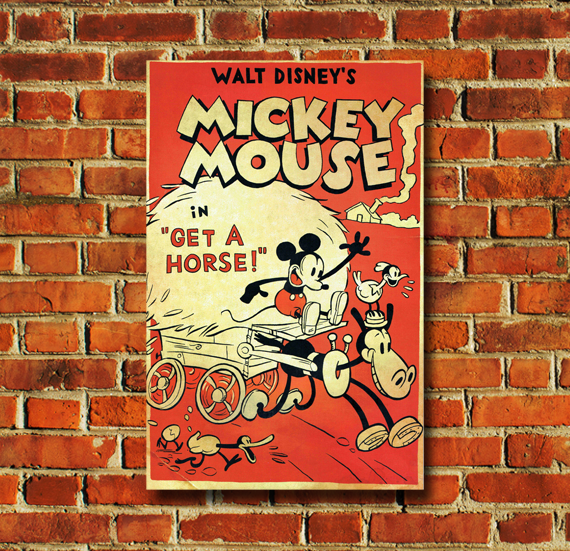 Mickey Mouse in Get a Horse - 0146