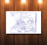 Tom Sawyer Island Blueprint - 0208