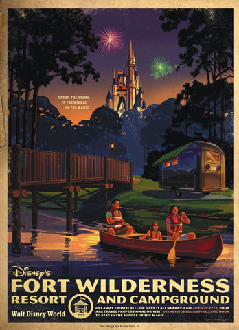 Walt Disney World Fort Wilderness Campground #2 Hotel and Resort - 0323